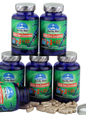 Arctic Star Sea cucumber + D3 capsules