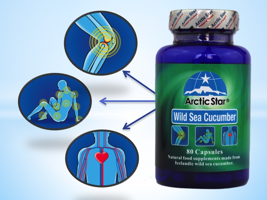 Arctic-Star-sea-cucumber-capsules-help-to-reduce-stiffness-and-joint-pains-improve-blodd-flow-enhace-immunity.